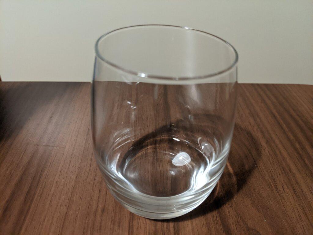 ひやしぼりグラス
